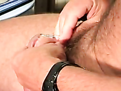 Home piercing of glans