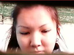 KASACHSTAN WC 25 - HAIRY SKINNY CUNT PISSING