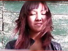 KASACHSTAN WC 28 - SWEET HAIRY SMILING SLUT PISSING