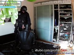 14. SWAT cop and muscle biker