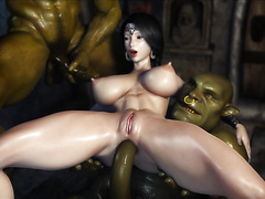 Great 3D animation, not censored and nice clear resolution, thats super hot!