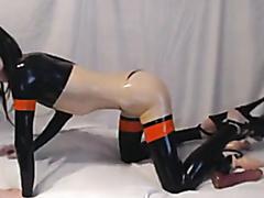Sophie Black Sissy in latex