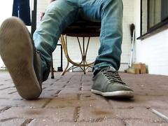 Grey Zara Shoes & dirty white socks - video 2