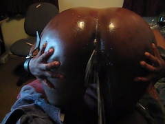 Milk enema - video 3