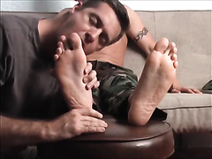 Worship Huge Military Feet Size 15