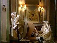 Naughty nuns play around