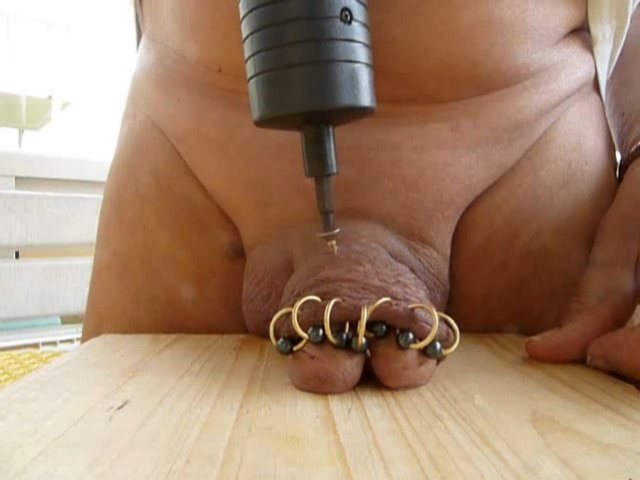 Self Cbt With Screw In His Cock - Gay Bizarre Porn At -3767