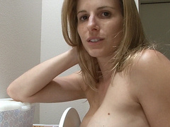 Cory Chase pooping on toilets