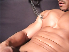 japanese muscle man fisted and squirt