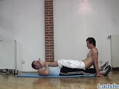 Personal trainer dominates
