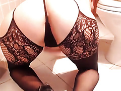 bathroom scat - video 2