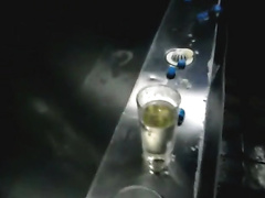 Pints Of Piss From Public Urinal - Part 2