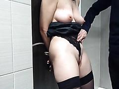 Geile Tittenbearbeitung