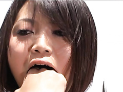 Japanese Dildo vomit - extremely cute and dirty girls