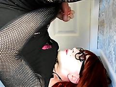 Self cumming on face
