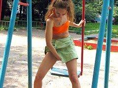 Swinging urination