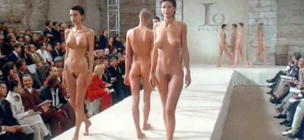 Naked Fashion Show Video