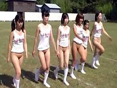 Asian teens want to become cheerleaders