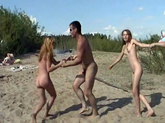 Photos of dancing nudist are