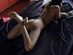 Fucking asshole of sexy amateur GF