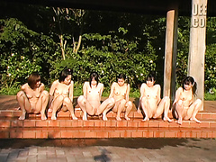 Japanese pissing contest