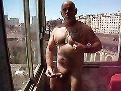 Balcony Wank
