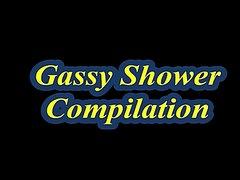 Gassy Shower Compilation