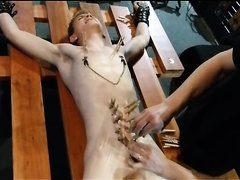 BDSM Woody Racked pt. 1 nipple torture