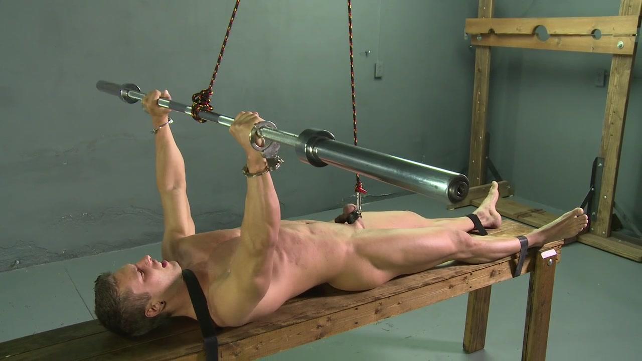tortured his balls