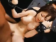 Rio Hamasaki gets tied, fucked and facialized