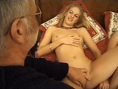 Group sex with sweet young Euro girls