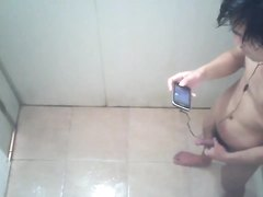 College Guy Spied JO in Dorm Shower