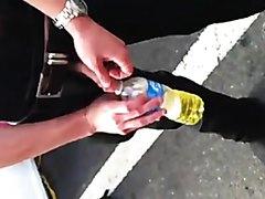public piss drink