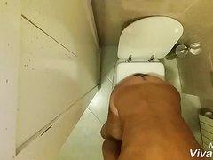 Spy man barhroom