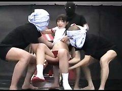 Anal Torture ! Triple Play! Love Fist Mizushima