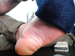Sweaty sock strip foot master