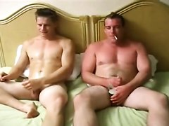 Two hot guys first time together
