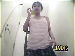 Girl vomiting furiously