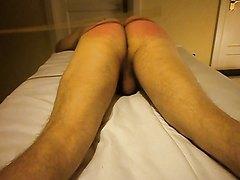 SadistMasterSeb Slave spank part 2