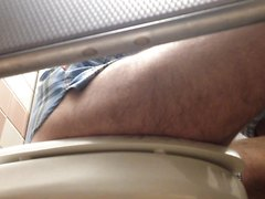 Hot guy taking a dump (2)