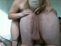 EXPOSED DIRTY BLONDE MOM ASS SUCKING AND MORE!