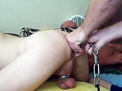 Ass chain pull