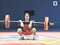Weight lifter pissed her panties