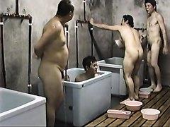 Asian men spy vid