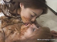 Japanese scat lesbian_03