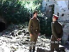 Soviet comrade disciplined by senior officer