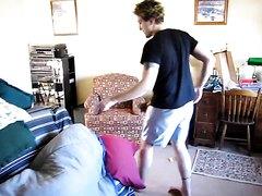RUDE fart awakening (kind of alarm)