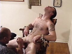 Straight Men Bound and Milked Dry