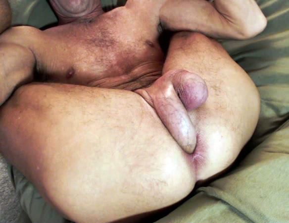 Self penis to anal