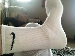 Sock and foot love